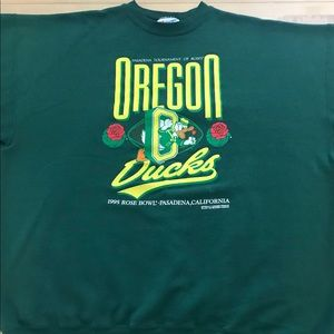 Other - Vintage Oregon Ducks 1995 Rose Bowl Crewneck